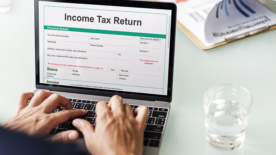 A simple process of E-filling your tax return