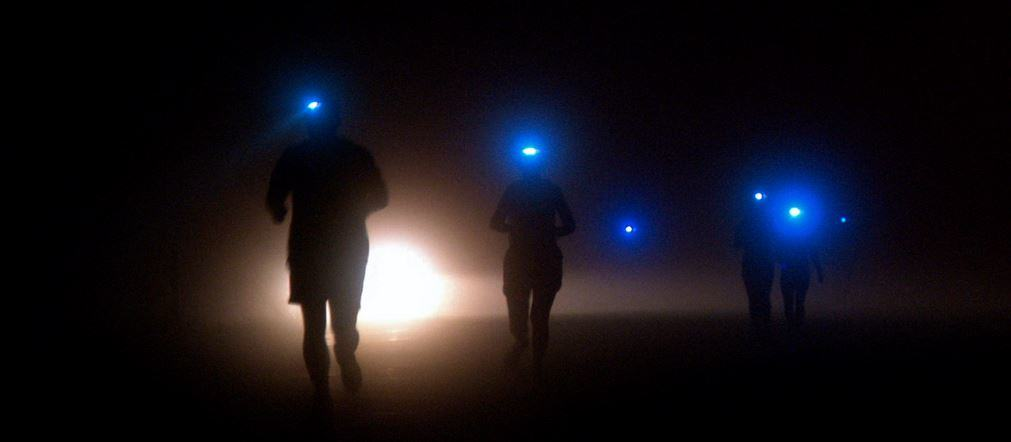 Take a running headlamp with you on your outdoor excursions